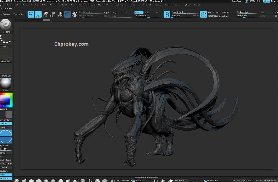Pixologic ZBrush Key